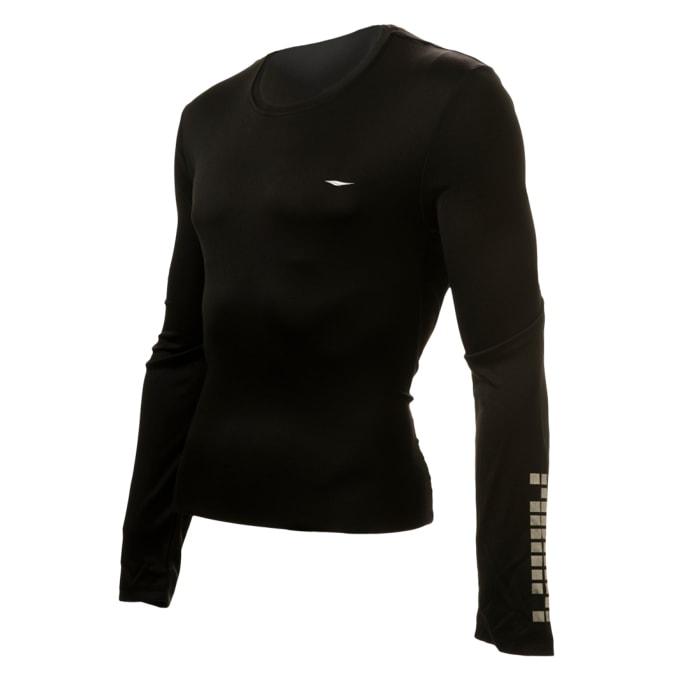 חולצת דרייפיט ארוכה בצבע שחור