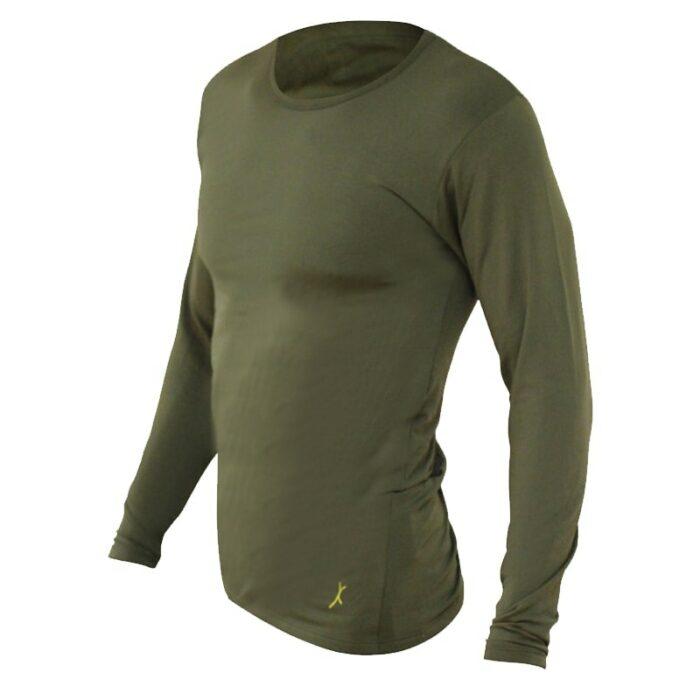 חולצה טרמית Level 2בצבע ירוק