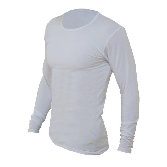 חולצה טרמית Level 2בצבע לבן