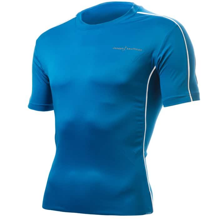 חולצת דרייפיט קצרה בצבע כחול