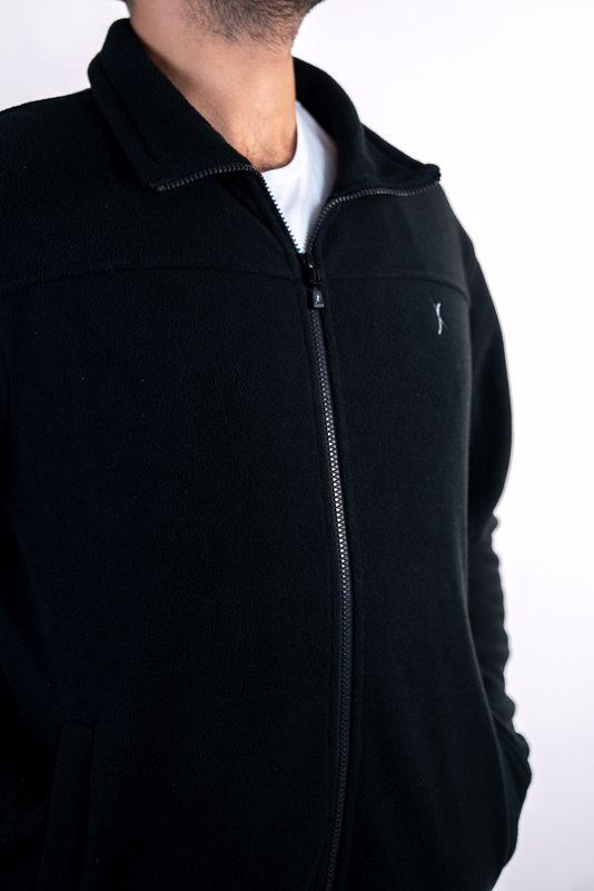 מעיל פליז שחור מומלץ