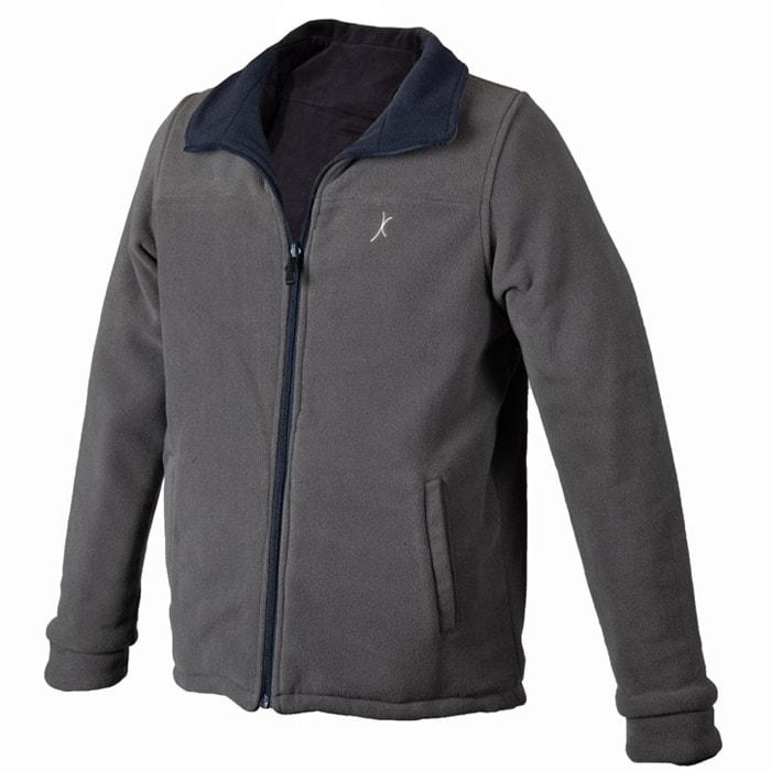 מעיל פליז דו צדדי Pro-X 2019 בצבע כחול אפור