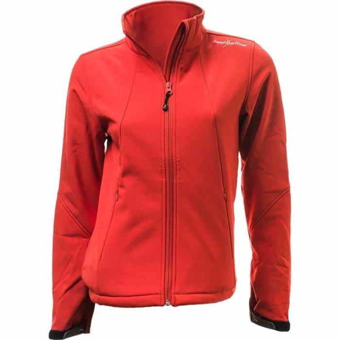 מעיל סופטשל לנשים בצבע אדום Avalanche Women