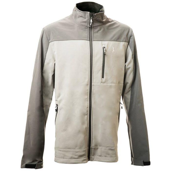 מעיל סופטשל Storm בצבע אפור