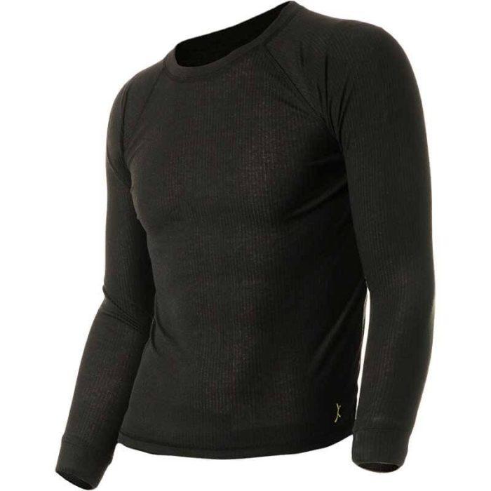 חולצה טרמית בצבע שחור