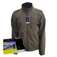 מארז מעיל סופטשל צבאי וחולצה טרמית Level 2